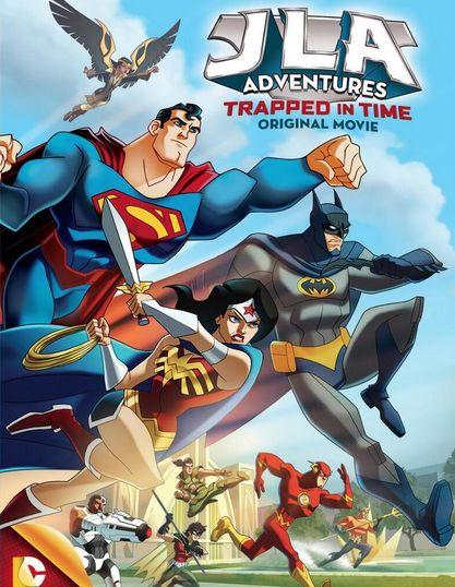 مشاهدة فلم الكرتون والخيال JLA Adventures Trapped In Time 2013