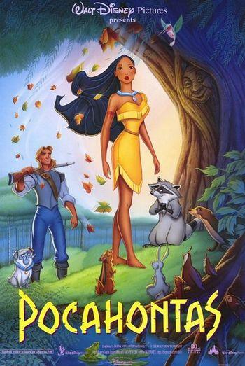 شاهد فلم الكروتون بوكاهنتس Pocahontas 1 1995 مدبلج للعربية