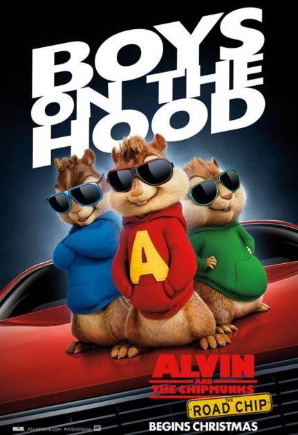سلسلة افلام وحلقات الفين والسناجب Alvin and the Chipmunks
