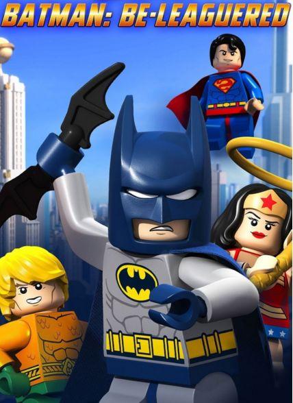 فلم الكرتون القصير ليجو: انضمام باتمان للفريق  Lego DC Comics Batman Be-Leaguered 2014 مدبلج للعربية