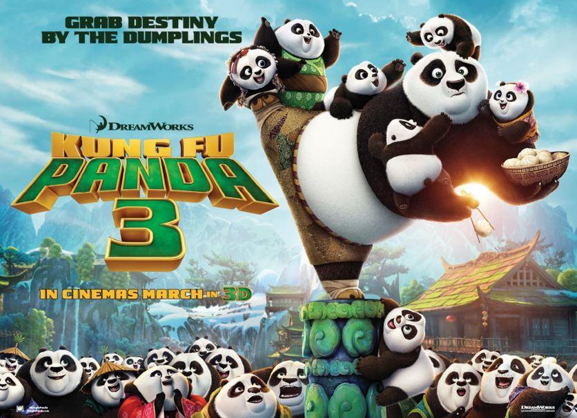 فلم الكرتون كونغ فو باندا 3 - 2016 Kung Fu Panda 3 مدبلج للعربية