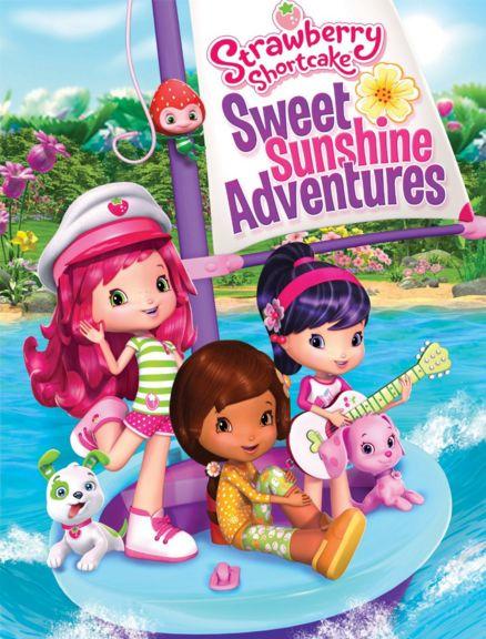 فلم الكرتون مغامرات ستروبيري شورت كيك Strawberry Shortcake: Sweet Sunshine Adventures 2016 مترجم للعربية
