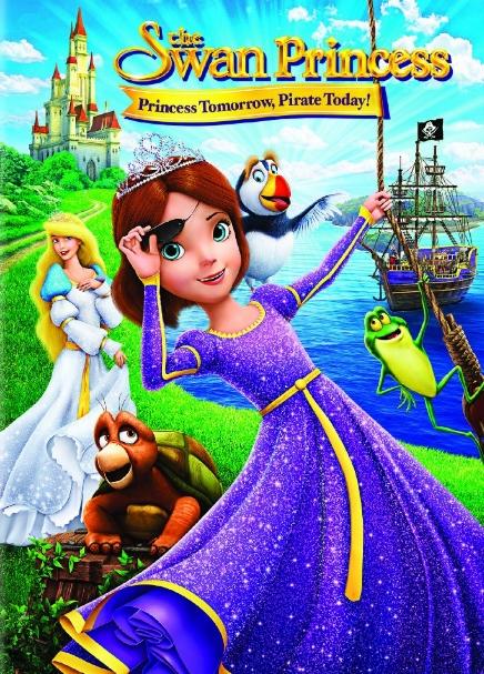 فلم الكرتون الاميرة البجعة: اميرة غدا، قرصانة اليوم The Swan Princess: Princess Tomorrow Pirate Today 2016 مترجم للعربية