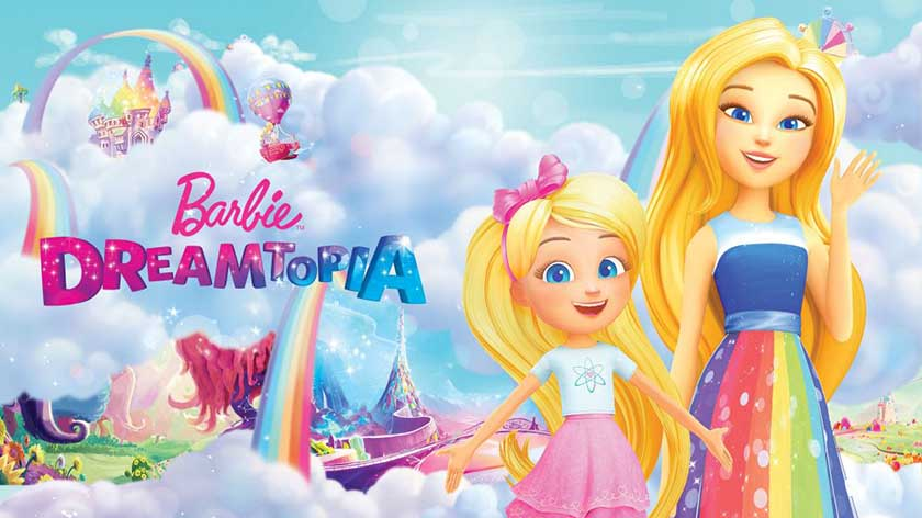 فلم الكرتون باربي دريم توبيا Barbie Dreamtopia 2016