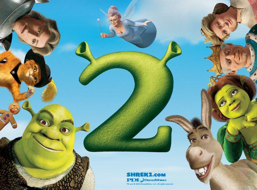 شاهد فلم الكرتون شريك Shrek 2 2004 مدبلج للعربية
