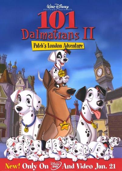 شاهد فلم الكرتون مئة مرقش ومرقش الجزء الثاني Dalmatian 101  مدبلج