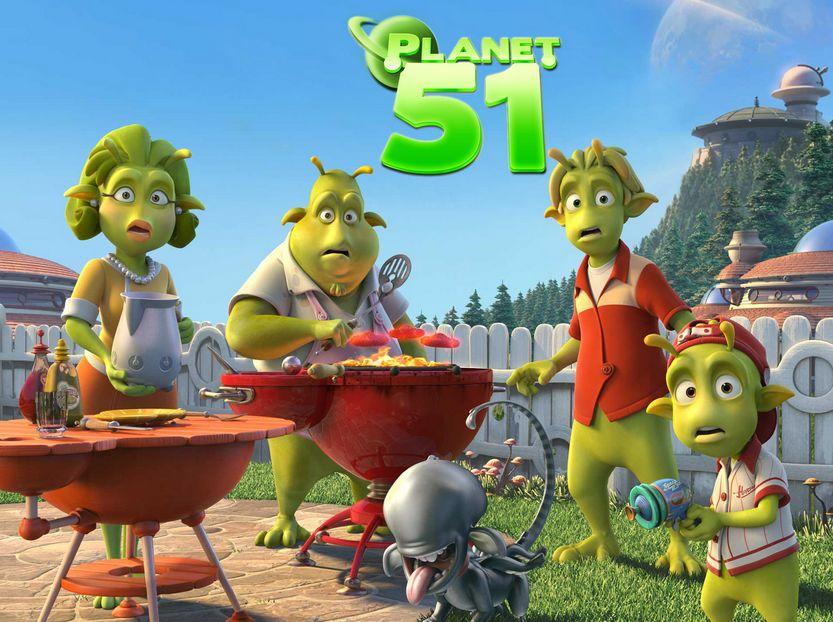 شاهد فلم الكرتون الكوكب 51 - Planet 51 مترجم