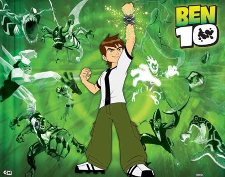 شاهد مسلسل الكرتون بن تن Ben 10 على مجلة المحب للاطفال