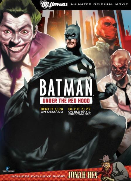 شاهد فلم الكرتون باتمان Batman: Under the Red Hood 2010
