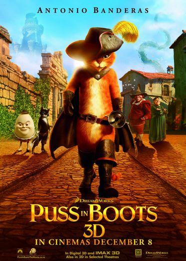 شاهد فلم الكرتون قطط ترتدي احذية Puss in Boots 2011 مدبلج للعربية