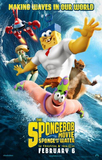 شاهد فلم الكرتون سبنج بوب خارج الماء The SpongeBob Movie Sponge Out of Water 2014 مترجم