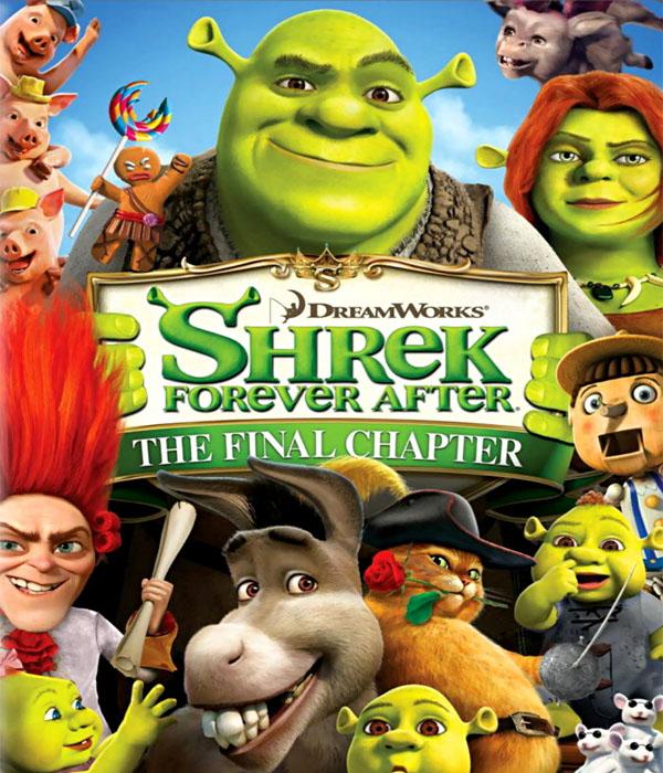 شاهد فلم الكرتون شريك Shrek Forever After 2010 مدبلج للغة العربية