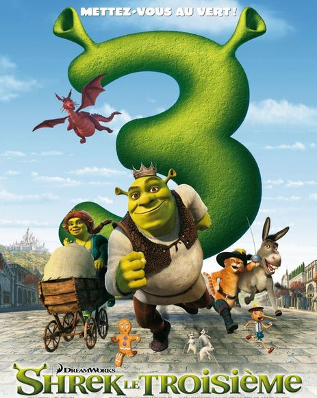 شاهد فلم الكرتون شريك الثالث Shrek the Third 2007 مدبلج باللغة العربية