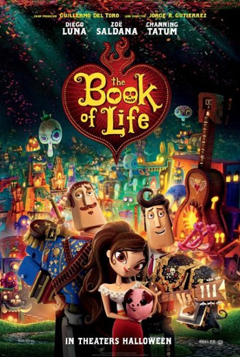 شاهد فلم الكرتون والمغامرة The Book of Life 2014 مترجم