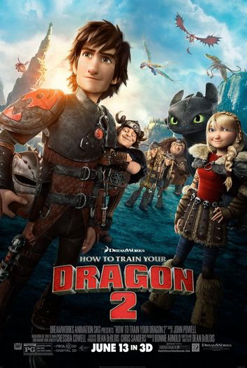 شاهد فلم الكرتون how to train your dragon 2 - 2014 مدبلج للعربية