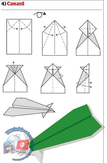اصنع طائرة ورقية شكل 3