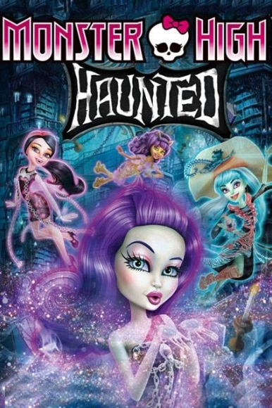 شاهد فلم الكرتون Monster High Haunted 2015 مترجم