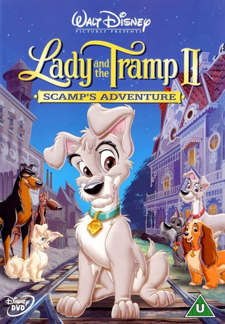 شاهد فلم الكرتون النبيلة والشارد الجزء الثاني Lady And The Tramp 2001 مبدبلج للعربية