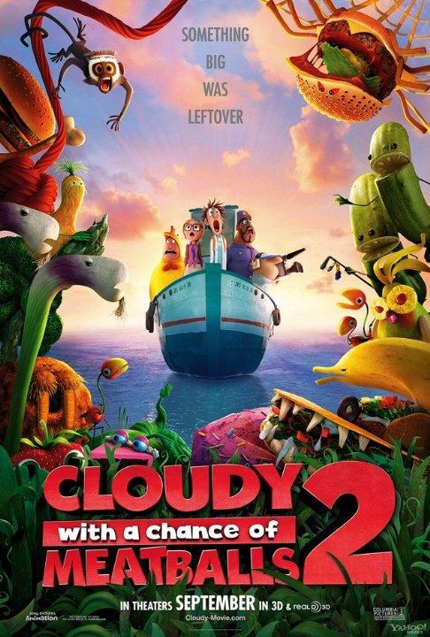 شاهد فلم الكرتون  2013 - Cloudy with a Chance of Meatballs 2 مدبلج باللغة العربية