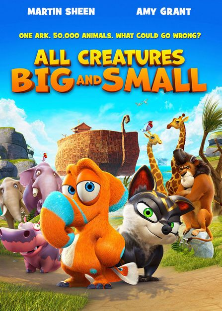 Ýáã ÇáßÑÊæä All Creatures Big and Small 2015 ãÊÑÌã ááÚÑÈíÉ HD