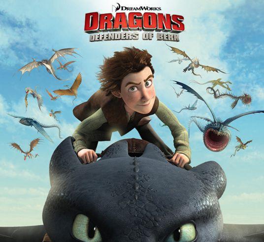 سلسلة افلام وحلقات كرتون التنانين فرسان قرية بيرك Berk Dragons