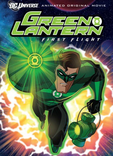فلم كرتون الفانوس الاخضر الطيران الاول Green Lantern First Flight 2009 مترجم