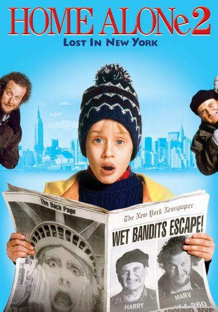 فلم العائلة الكوميدي البقاء في المنزل 2 : ضائع في نيويورك Home Alone 2 Lost In New York 1992