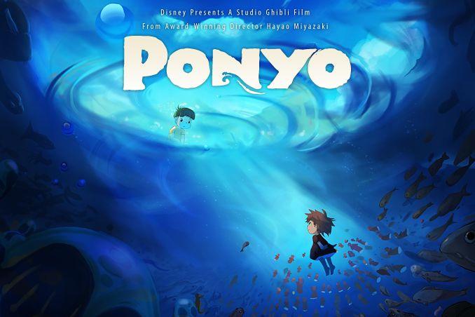 فلم الكرتون بونيو Ponyo On The Cliff By The Sea 2008 مترجم للعربية