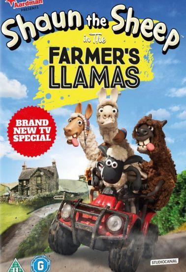 فلم الكرتون الصامت شون الخروف واللاما المشاغبين Shaun the Sheep The Farmers Llamas 2015