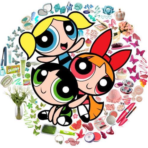 مسلسل الكرتون فتيات القوة The Powerpuff Girls