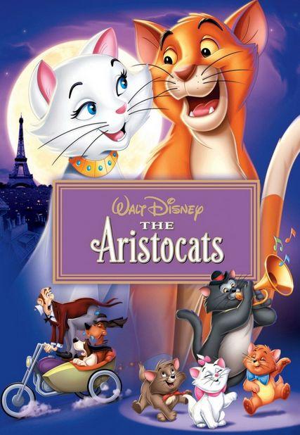 فلم الكرتون قطط ذوات The AristoCats 1970 مدبلج للعربية HD