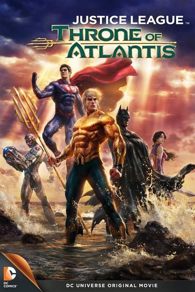 شاهد فلم الكرتون الانيميشن الاكشن والابطال الخارقين Justice League Throne of Atlantis 2015  مترجم