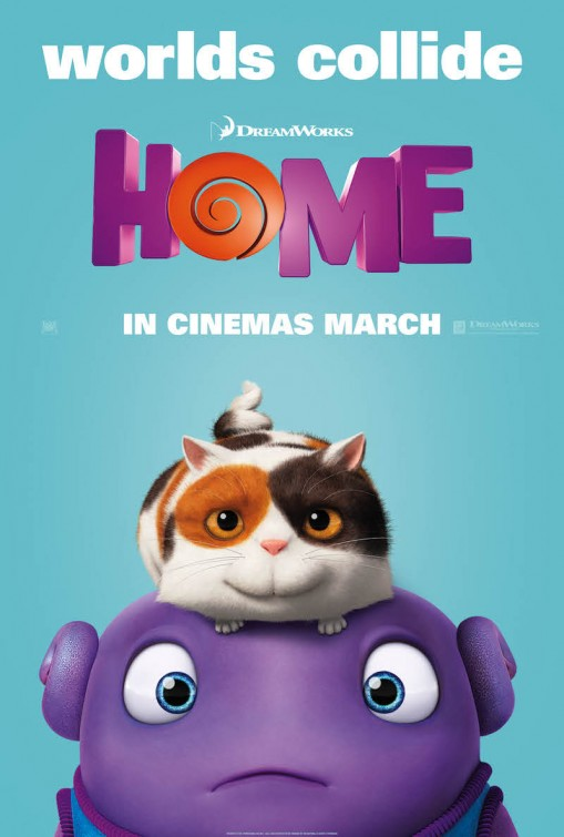 شاهد فلم الكرتون الوطن Home 2015 مدبلج للغة العربية