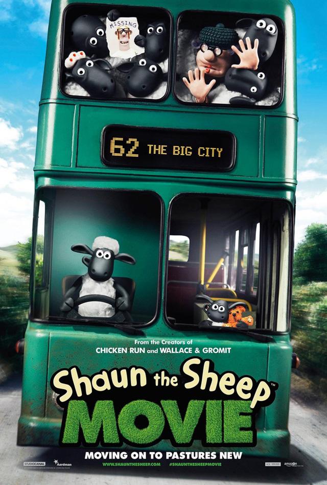 شاهد فلم الكرتون والانيميشن شون الخراف Shaun the Sheep Movie 2015