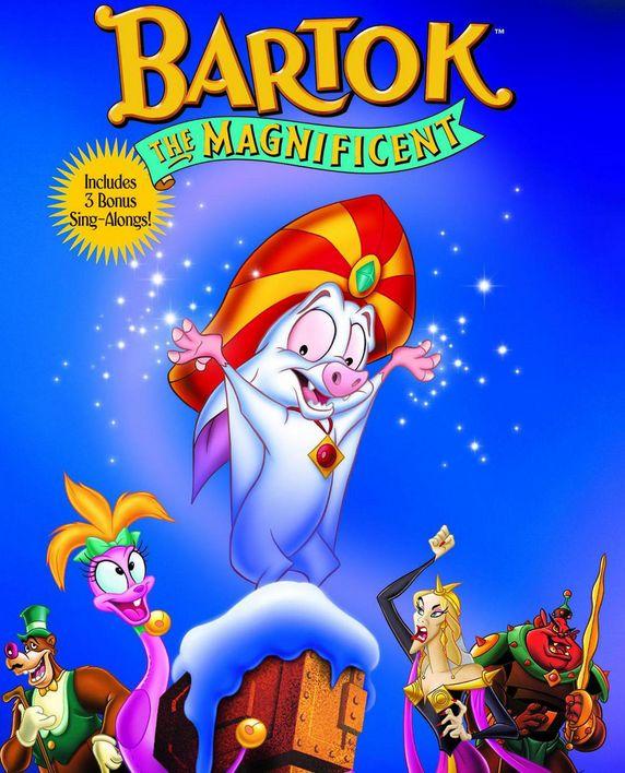 شاهد فلم الكرتون بارتوك العظيم Bartok 1997 مدبلج للعربية