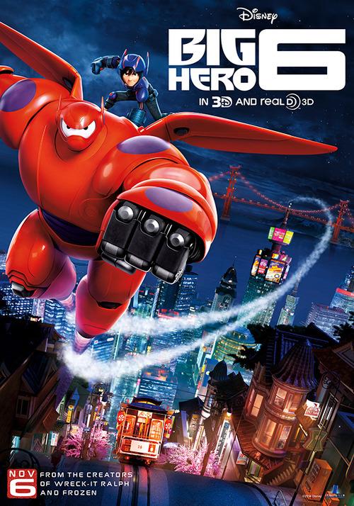 شاهد فلم الكرتون الابطال الستة Big Hero 6 2014