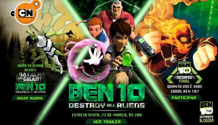 شاهد فلم الكرتون بن تن مدمر الكائنات الفضائية Ben 10 Destroy All Aliens 2012 مدبلج