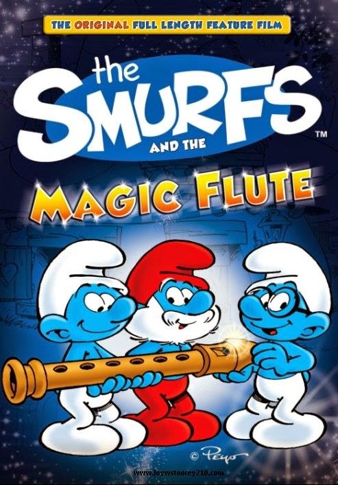 شاهد فلم الكرتون السنافر والناي السحري The Smurfs And The Magic Flute 1975 مترجم