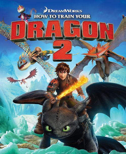 شاهد فلم الكرتون How to train your dragon 2 - 2014 مدبلج للعربية HD